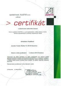 Certifikat Austis