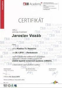 Certifikat JUB